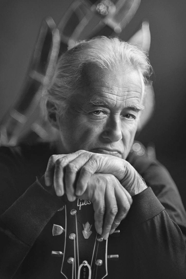 Resonators by Scarlet Page in aid of Teenage Cancer Trust London, Jimmy Page