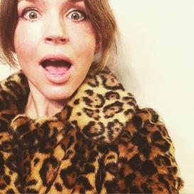 surprise leopard