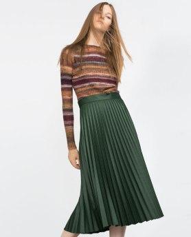 Zara green