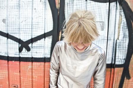 Topshop Luxe foil jumper