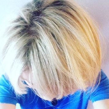 Yay! Properly blonde!